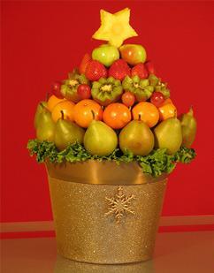необычная елка из фруктов, Поздравляем С Новым Годом и Рождеством, Готовимся к Новому Году, украшаем дом на новый год, украшаем дом на новый год, как нарядить елку, как украсить новогоднюю елку, новогодняя елка фото, необычные елки, как красиво украсить елку, как украсить елку, необычная елка своими руками