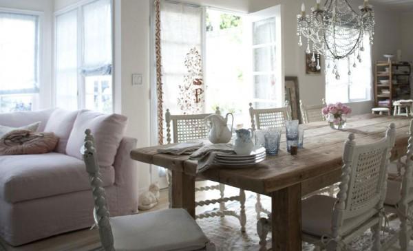 стильный дом, домашний персонал, Мебель в стиле шебби шик, портал домашний персонал,