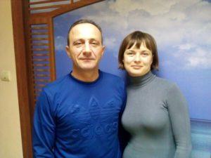 семейная пара в загородный дом с проживанием