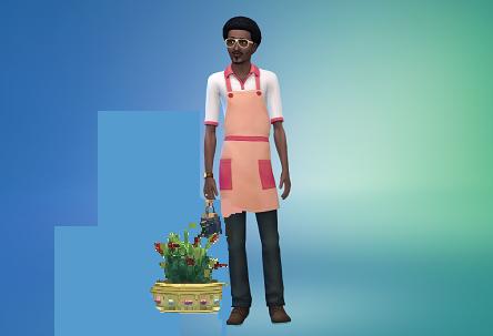 работа садовником