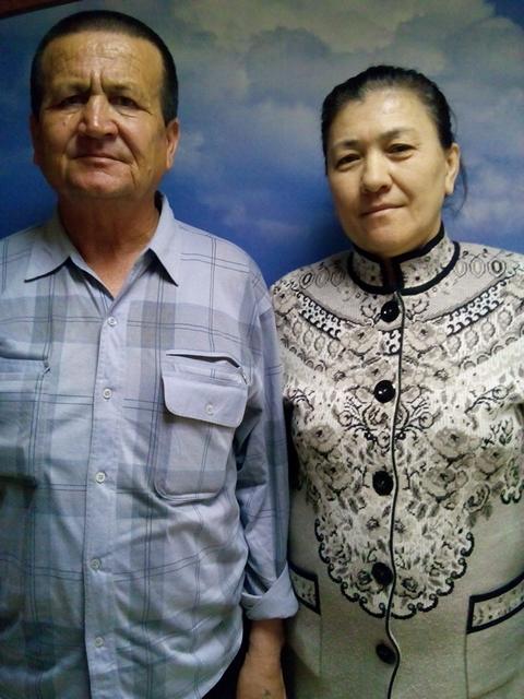 семейная пара работники в хозяйство